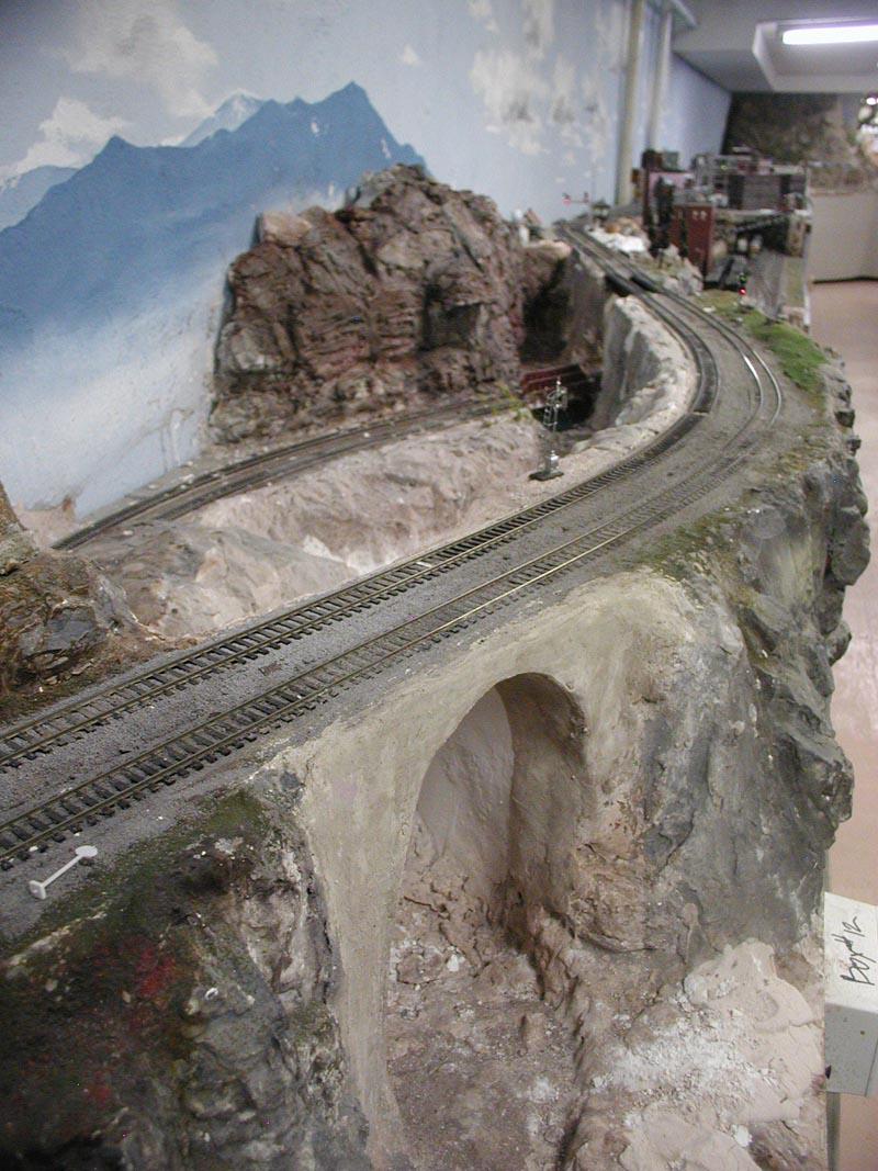 HO Scale Mountain Layout